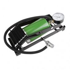 Ножной насос пневматический, с предохранительным клапаном и манометром, 2,5 бар